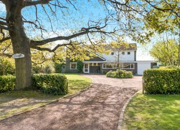 Thumbnail 4 bed detached house for sale in Shaftesbury Road, Bisley, Woking, Surrey
