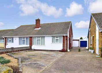 Thumbnail 2 bed semi-detached bungalow for sale in Leonard Road, Greatstone, Kent