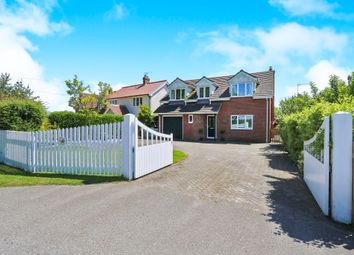 Thumbnail 4 bed detached house for sale in The Green, Ashbocking, Ipswich