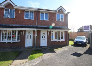 Thumbnail 3 bed semi-detached house for sale in Curlew Close, Thornton-Cleveleys