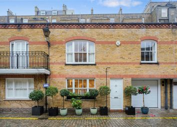 Thumbnail 4 bed mews house to rent in Onslow Mews West, London