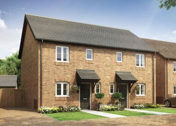 Thumbnail 2 bedroom semi-detached house for sale in Armscote Road, Newbold-On-Stour, Warwickshire