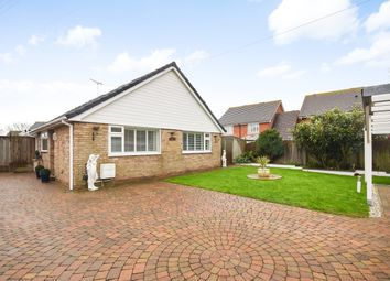 Thumbnail 3 bed detached bungalow for sale in Burmarsh Road, Hythe