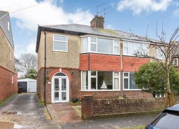 Thumbnail 3 bed semi-detached house for sale in Lealand Road, Drayton, Portsmouth