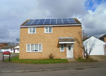 Thumbnail 4 bed detached house to rent in Mortimer Road, Kempston, Bedford