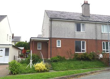 Thumbnail 2 bed semi-detached house for sale in Ffordd Dolafon, Llangefni, Anglesey