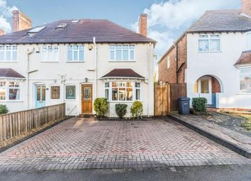 Thumbnail 3 bed semi-detached house for sale in Park Hill Road, Harborne, Birmingham, West Midlands