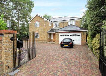 Thumbnail 5 bed detached house for sale in Ellesmere Road, Weybridge, Surrey