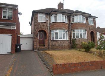 Thumbnail 3 bed semi-detached house for sale in Ashville Avenue, Hodge Hill, Birmingham