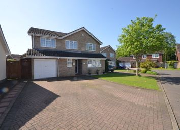 Thumbnail 4 bed detached house for sale in Hemmingway Close, Newport Pagnell
