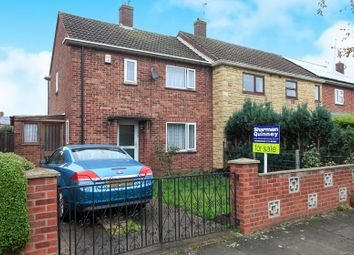 Thumbnail 2 bed end terrace house for sale in Almond Road, Dogsthorpe, Peterborough