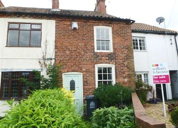 Thumbnail 2 bed cottage for sale in Station Road, Bawtry, Doncaster