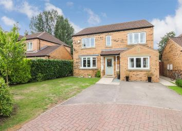Thumbnail 4 bed detached house for sale in Wickham Way, Driffield