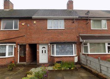 Thumbnail 2 bed terraced house for sale in Castleton Road, Great Barr, Birmingham