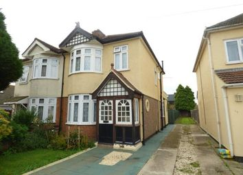 Thumbnail 3 bed semi-detached house for sale in ., Rainham, Essex