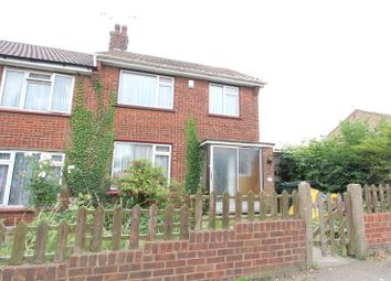 Thumbnail 2 bed end terrace house to rent in Keary Road, Swanscombe, Kent