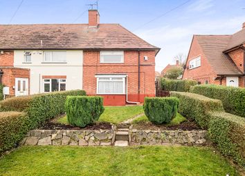 Thumbnail 3 bed terraced house for sale in Tiverton Close, Aspley, Nottingham