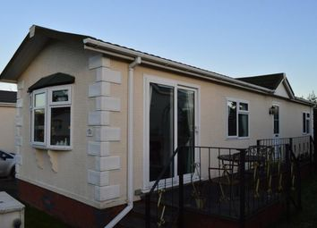 Thumbnail 2 bed mobile/park home for sale in Lower Lodge Residential Mobile Home, Rugeley Road, Armitage, Rugeley