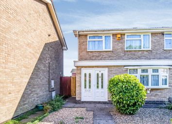 3 bed semi-detached house for sale in Blakesley Walk, Leicester LE4