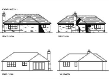 Thumbnail 2 bed detached bungalow for sale in Building Plot, New Road, East Hagbourne