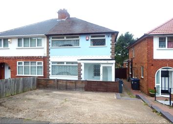 Thumbnail 3 bed semi-detached house to rent in Nigel Avenue, Northfield, Birmingham
