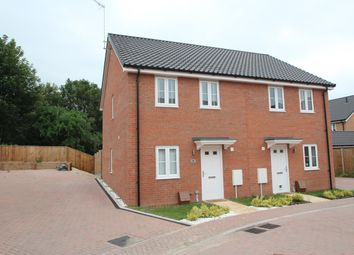 Thumbnail 3 bed semi-detached house for sale in Kiln Close, Great Blakenham, Ipswich