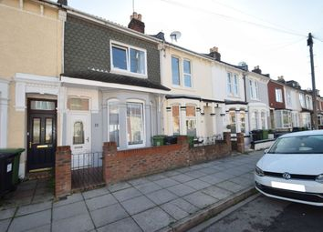 Thumbnail 3 bed terraced house for sale in Alverstone Road, Southsea