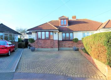 Thumbnail 3 bed semi-detached bungalow for sale in Keith Avenue, Sutton At Hone, Dartford