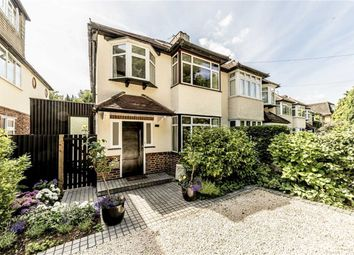 Thumbnail 4 bed semi-detached house for sale in Brunswick Close, Portsmouth Road, Thames Ditton