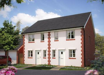 """Thumbnail 2 bed semi-detached house for sale in """"The Amberley"""" at Pixie Walk, Ottery St. Mary"""