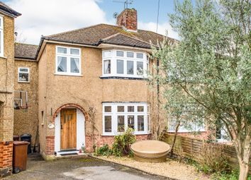 Thumbnail 4 bed semi-detached house for sale in Herkomer Close, Bushey