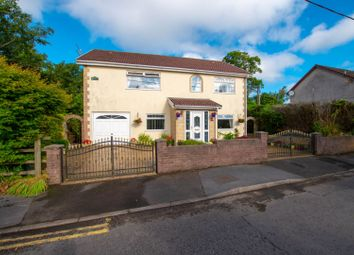 Thumbnail 4 bed detached house for sale in Station Road, Tredegar