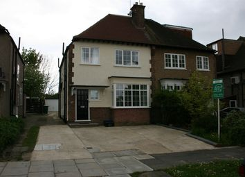 Thumbnail 4 bedroom semi-detached house to rent in Hilton Avenue, North Finchley