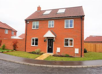 Thumbnail 3 bedroom detached house for sale in Burnt Fen Way, Hoveton, Norwich