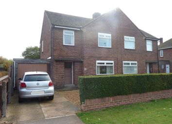 Thumbnail 3 bedroom semi-detached house to rent in Eastern Avenue, Dogsthorpe, Peterborough