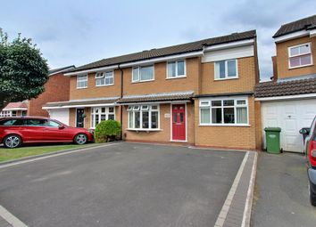 Thumbnail 4 bed semi-detached house for sale in Swallowfield, Tamworth