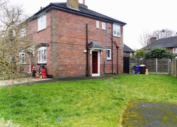 Thumbnail 2 bed flat for sale in Firethorn Avenue, Burnage, Manchester