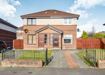 Thumbnail 2 bed semi-detached house for sale in Waulkmill Avenue, Barrhead, Glasgow
