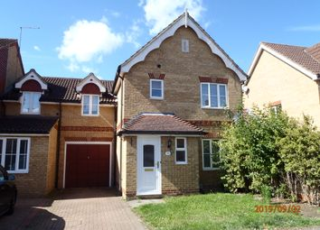 Thumbnail 4 bed link-detached house to rent in Serpentine Close, Stevenage