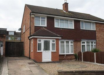 Thumbnail 3 bed semi-detached house for sale in Elsham Close, Leicester