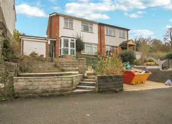 Thumbnail 3 bed semi-detached house for sale in Church Road, Govilon, Abergavenny, Monmouthshire