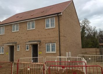 Thumbnail 3 bedroom semi-detached house for sale in Badger Way, Brampton, Huntingdon