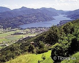 Thumbnail Land for sale in 6982, Agno, Switzerland