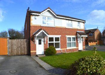 Thumbnail 2 bed semi-detached house to rent in Roseberry Avenue, Cottam, Preston