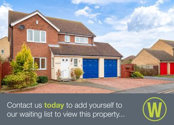Thumbnail 4 bed detached house for sale in The Sycamores, Bluntisham, Huntingdon