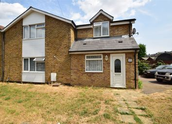 Thumbnail 4 bed semi-detached house for sale in Bedwell Crescent, Stevenage, Hertfordshire