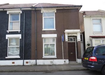 Thumbnail 3 bed end terrace house for sale in Clive Road, Fratton, Portsmouth, Hampshire