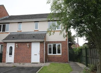 Thumbnail 3 bed semi-detached house to rent in Redewood Close, Newcastle Upon Tyne