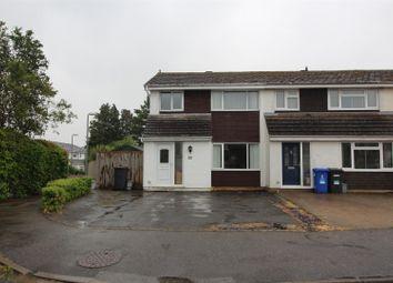 Thumbnail 3 bed end terrace house for sale in Glebe Road, Deanshanger, Milton Keynes