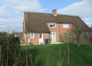 Thumbnail 3 bed semi-detached house to rent in South Road, Kingsclere, Newbury